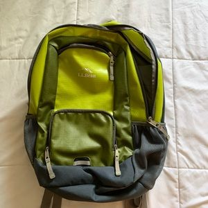 Barely used LL Bean backpack